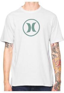Camiseta Hurley Silk Circle Icon - Masculino