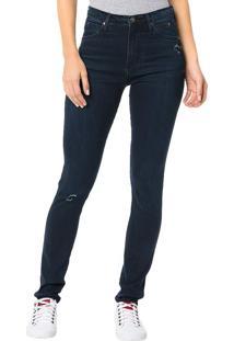 Calça Calvin Klein Jeans Sculpted Azul Marinho - 38