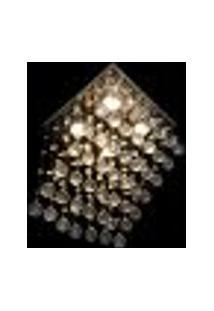 Lustre De Cristal Legítimo Rampa Hunter Trade Para 4 Lâmpadas Gu10 Bivolt - Rampa-28