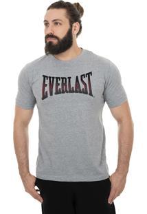 Camiseta Everlast Logo Desfoque Mescla.