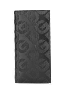 Dolce & Gabbana Carteira Dg Mania Com Logo - Preto