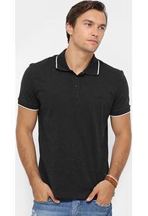 Camisa Polo Colcci Malha Botonê Masculina - Masculino