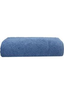 Toalha De Banho Pixel Azul