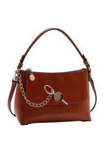 Bolsa Feminina Chenson Verniz Soft Transversal 3483273