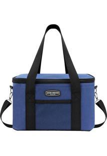 Bolsa Térmica- Azul & Preta- 18X28X17Cmjacki Design
