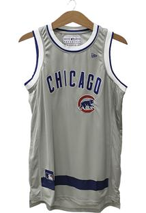 Regata New Era Basketball Stripes Chicago Cubs
