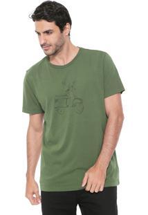 Camiseta Richards Vespa Verde