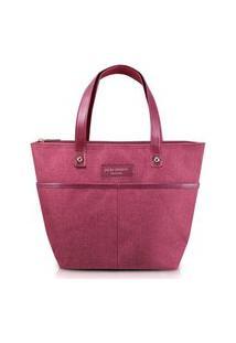 Bolsa Pequena Com Alça Jacki Design Be You Vinho