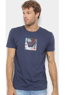 Camiseta Hang Loose Silk Logoarmy Floral Masculina - Masculino