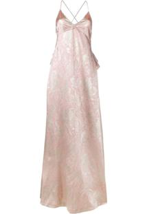 Rochas Vestido Longo - Rosa
