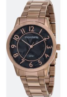 Kit Relógio Feminino Mondaine 53638Lpmvre1Ka Analógico 5Atm + Conjunto Semijóia