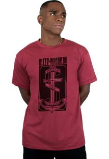 Camiseta Bleed American The Anchor Vinho