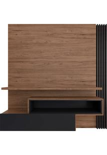 Painel Suspenso Para Tv De 65 Polegadas Com 1 Porta Est201-Estilare - Preto