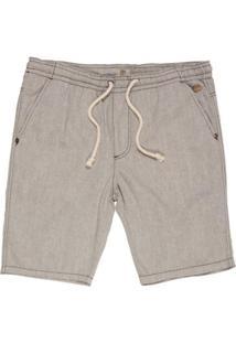 Bermuda Timberland Jogging Cotton - Masculino-Cinza
