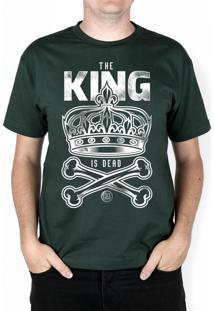 Camiseta Bleed American King Is Dead Musgo