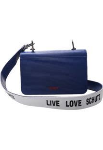 Bolsa Clutch Texturizada - Azul Escuroschutz