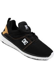 Tênis Dc Shoes Heathrow Masculino - Masculino-Preto+Laranja