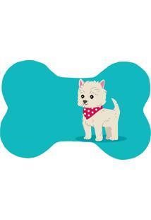 Tapete Love Decor Wevans Pet Dog Blue Azul