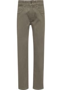 Calça Masculina 5 Pockets Jeans - Verde