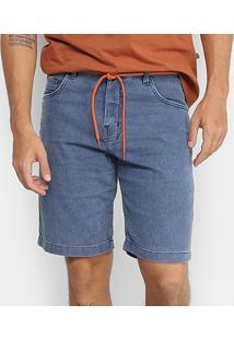 Bermuda Jeans New Skate Comfort Austin Masculina - Masculino