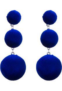 Brinco Longos Le Briju Azul