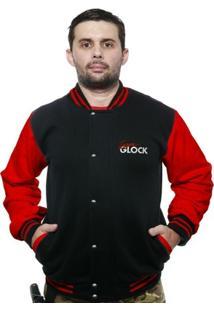 Casaco College Old School Militar Team Glock - Masculino