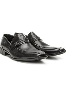 Sapato Social Couro Walkabout Versalhes - Masculino-Preto