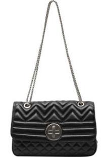 Bolsa Griffazzi Chanel Festa - Feminino-Preto