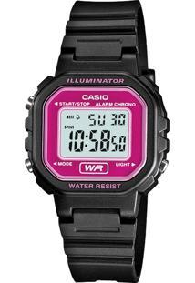 Relógio Casio Preto La-20Wh-4Adf-Br