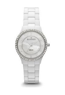 c4f16a2a19f ... Relógio Feminino Skagen Cerâmica