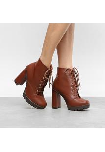 d87c27f22 Coturno Caramelo Salto Alto feminino | Shoelover