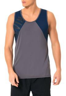 Regata Athletic Calvin Klein Swimwear Recortes Tela Chumbo - G