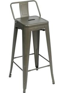 Banqueta Retrô- Bronze- 94X42,5X37Cm- Or Designor Design