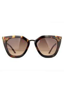 Óculos De Sol Atitude At5340 G22/52 Tartaruga/Dourado - Kanui