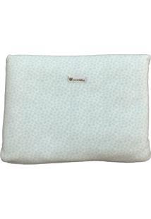 Cobertor Almofada Estampa Azul