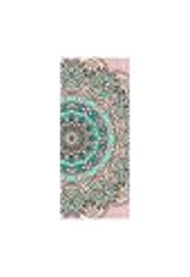 Adesivo Decorativo De Porta - Mandala - 2500Cnpt