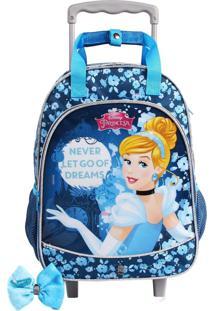Mochila De Rodinhas Princesas Disney Cinderela