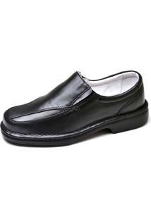 Sapato Social Masculino Conforto Top Franca Shoes Preto