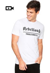 Camiseta Fiveblu Rebellious Mind Branca