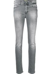 Versace Jeans Couture Calça Jeans Skinny - Cinza