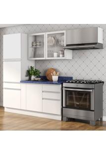 Cozinha Compacta Bbb I 7 Pt 5 Gv Branca E Azul