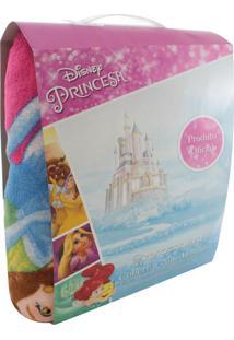 Cobertor Zona Criativa Com Mangas Princesas Disney