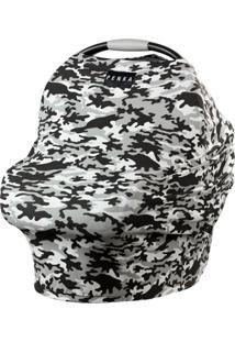 Capa Multifuncional Rambo Camuflado Preto E Banco Penka Cover