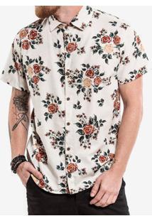 Camisa De Linho Floral 200381