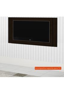 Painel Extensível Para Tv Até 55 Polegadas Duetto Marrom Escuro