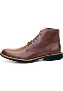 Bota The Box Project Scots Masculina - Masculino-Café