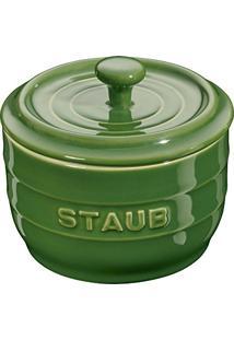 Porta Condimento Cerâmica Staub Verde 10 Cm - 18400
