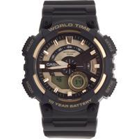 17cd6950a88 Relógio Casio Aeq-110Bw-9Avdf Preto
