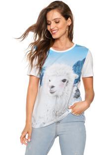 Camiseta Carmim Animals Branca