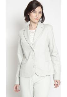 Blazer Texturizado- Azul Claro- Cotton Colors Extracotton Colors Extra